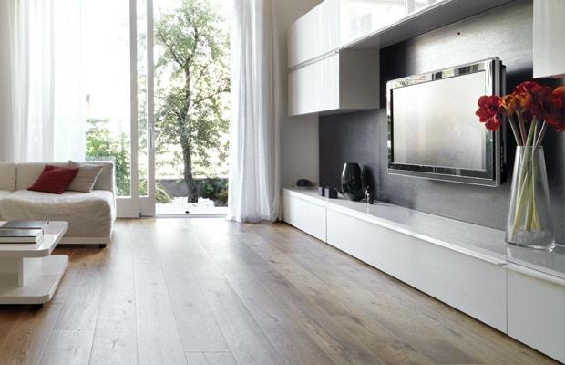 Laag TV-meubel maatwerk