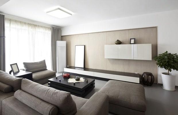 Wandkast op maat woonkamer