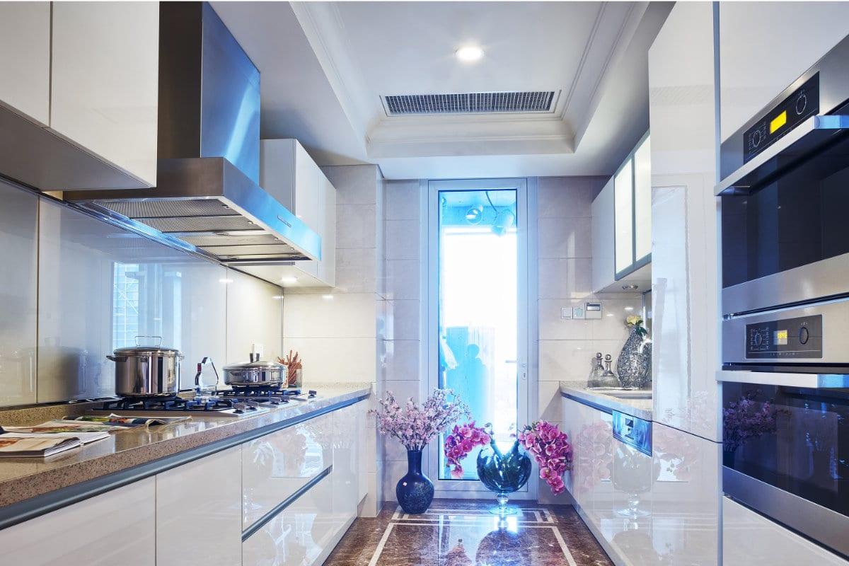 hoogglans meubels keuken